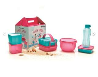 Jual Lovely family Tupperware