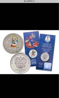 俄羅斯世界杯硬幣