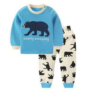 *INSTOCK* Blue Bear Baby Pyjamas