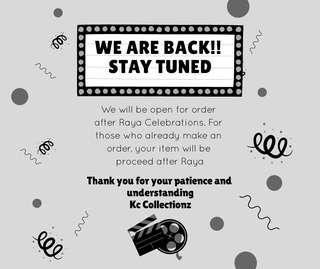 Special announcement: 08/06/2018