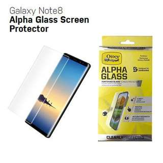 Original and New Otterbox Alpha Glass for Samsung Galaxy Note 8
