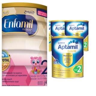Enfamil and aptamil Powder blessing exchange