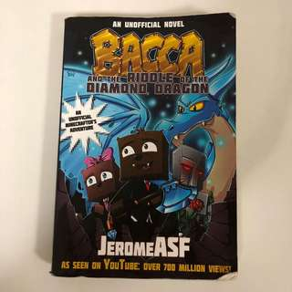 2015 BACCA and the Riddle of the DIAMOND DRAGON Book