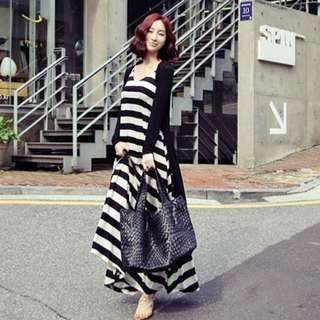 GSS -20% 🎉🎉 AA-087 KOREAN DRESS (INSTOCK)👚👗🇰🇷
