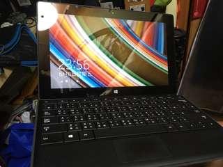 Microsoft Surface + keyboard cover