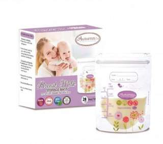 NEW Autumnz Breast Milk Storage Bag 5oz 28pcs