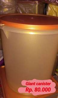 Giant canister tupperware