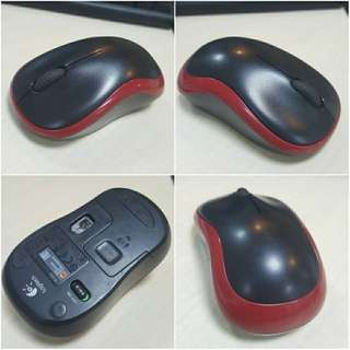 original wireless mouse logitech m185 bukan razer kabel