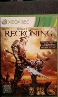 Xbox 360 Reckoning (Kingdom Of Amallur)