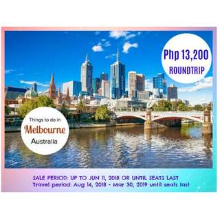 Melbourne Cheap Airfare!!