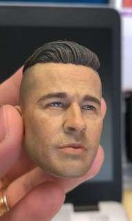 1/6 Brad Pitt Fury Head sculpt
