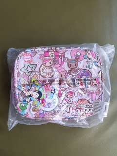 JuJuBe Tokidoki Cosmetics Train Case Bag carrier for travels Donutella Sweet Shop Be Ready bnwt