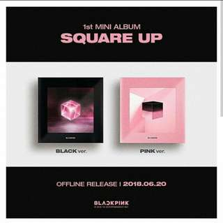 Blackpink Album Square Up
