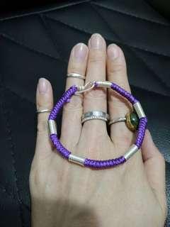 純手工925銀手繩鏈handmade 925 silver bracelet