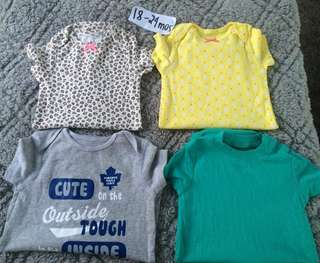 Onesies bnew CARTER'S 18-24M