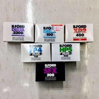 135 & 120 Films • Instax Mini 20s • Disposable Cameras (Fujifilm | Ilford | Kodak)