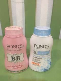 Pond's magic powder