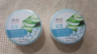 THE FACE SHOP Jeju Ice Aloe Vera Soothing Gel 300ml