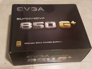EVGA Supernova 850W Gold power supply unit psu 10 years warranty