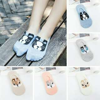 Cute Dog Ankle Socks