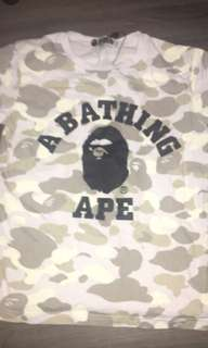 Authentic Bape Shirt