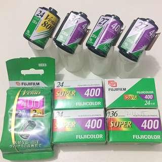 過期底片 : 富士135 expired Fujifilm Venus Superia Fujicolor (10捲)