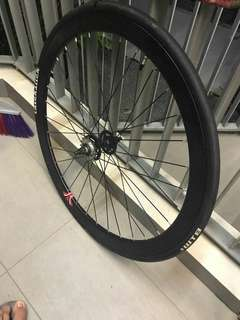 Fixie wheelset thickslick