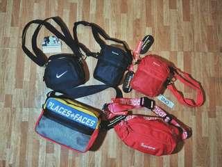 Supreme, Nike, Places plus Faces bags