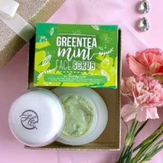 Scrub Greentea Mint Face Scrub