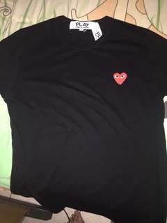 CDG PLAY black