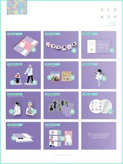 [QUICK GO&PRICE UPDATE] BTS V FANSITE TAETAELAND VANILLA SKY EXHIBITION GOODS
