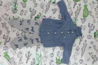 Original Carters Denim Terno