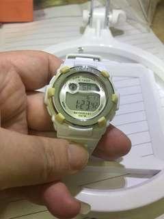 電子錶 working