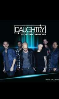Selling 2 Daughtry tickets. Pm thanks