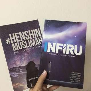 #HenshinMuslimah & Infiru (2pcs)