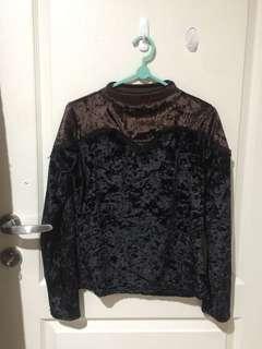 Sweater beludru