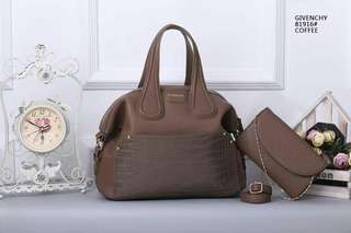 Givenchy Tote Bag 2 in 1 Coffee Color
