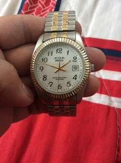 Acqua indiglo unisex watch