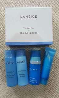 LANEIGE Moisture Care Trial Kit 4in1