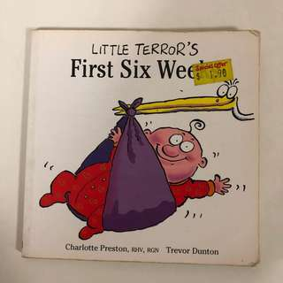 Little Terror's First Six Weeks Book