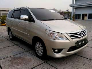 Toyota Kijang Innova G 2.5 AT / 2012 / Diesel