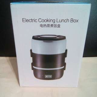 Electronic cooking lunch box