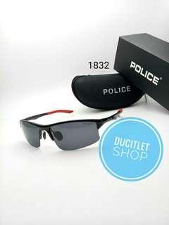 Kacamata Frame Pria import/Lensa Kaca Mata Cowok/Sunglasses Man Fashion Police