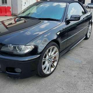Bmw E46 Ci 325i cabrio 2005 year condition good interior good clean RM10,600