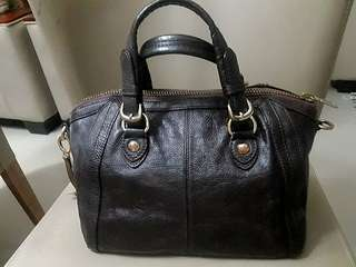 DKNY Leather Doctor's Handbag