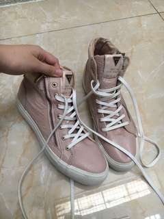 Guess Shoes Pink x White