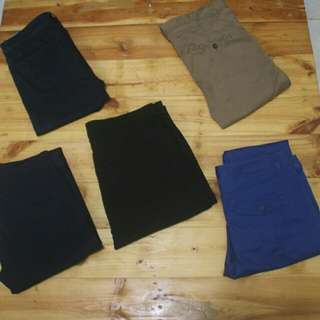 Celana panjang stretch ( ngaret)  top Branded top condition