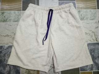 SWEAT SHORTS FOR MEN (CREAM)
