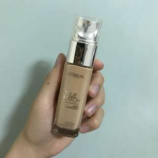 L'Oreal True Match Foundation (G2 Gold Porcelain)