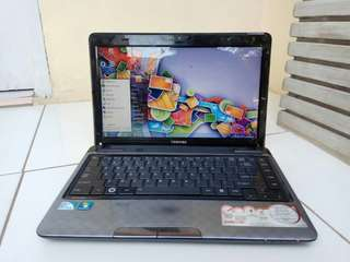 Laptop TOSHIBA L735 Intel B960 Ram 2/Hdd 320Gb Normal Jaya & Siap Pakai